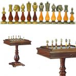 Шахматный стол Блокада.